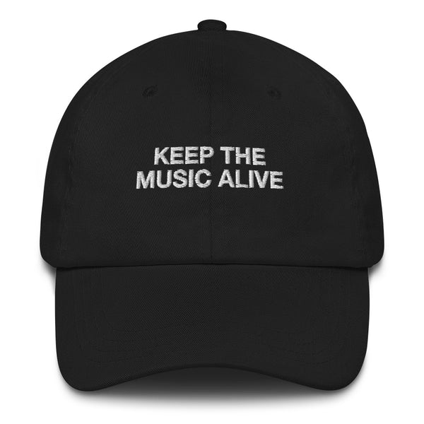 "KEEP THE MUSIC ALIVE ""Dad Hat"""