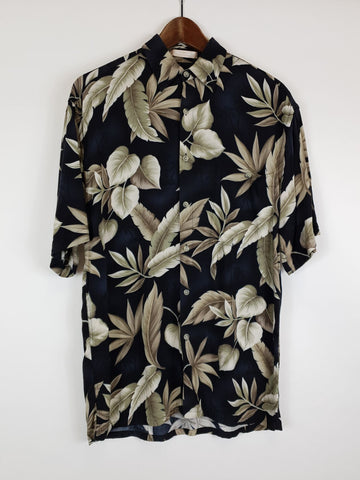 Camisa Hawaii Azul S
