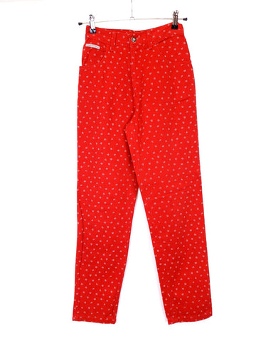 Ladies Summer Trousers Rojos, Talla S