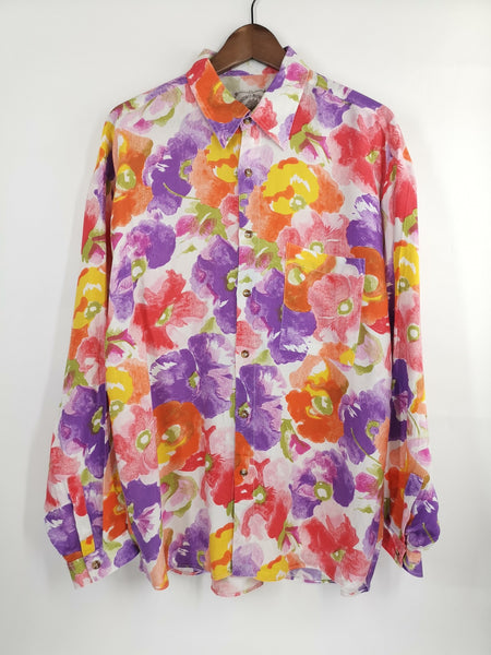 Camisa 90´s Full Colors / Talla L