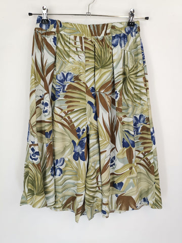 Culotte Palm Tree / Talla S-M