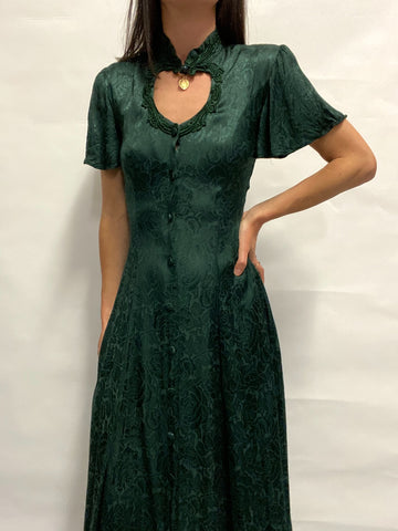 Vestido Largo Green Fairy / Talla S