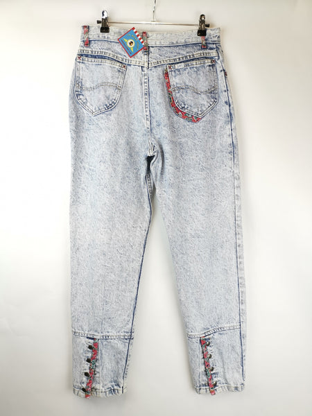Jeans Acid Wash Marca LEE / Talla 40