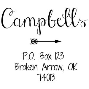 Campbell Address Stamp