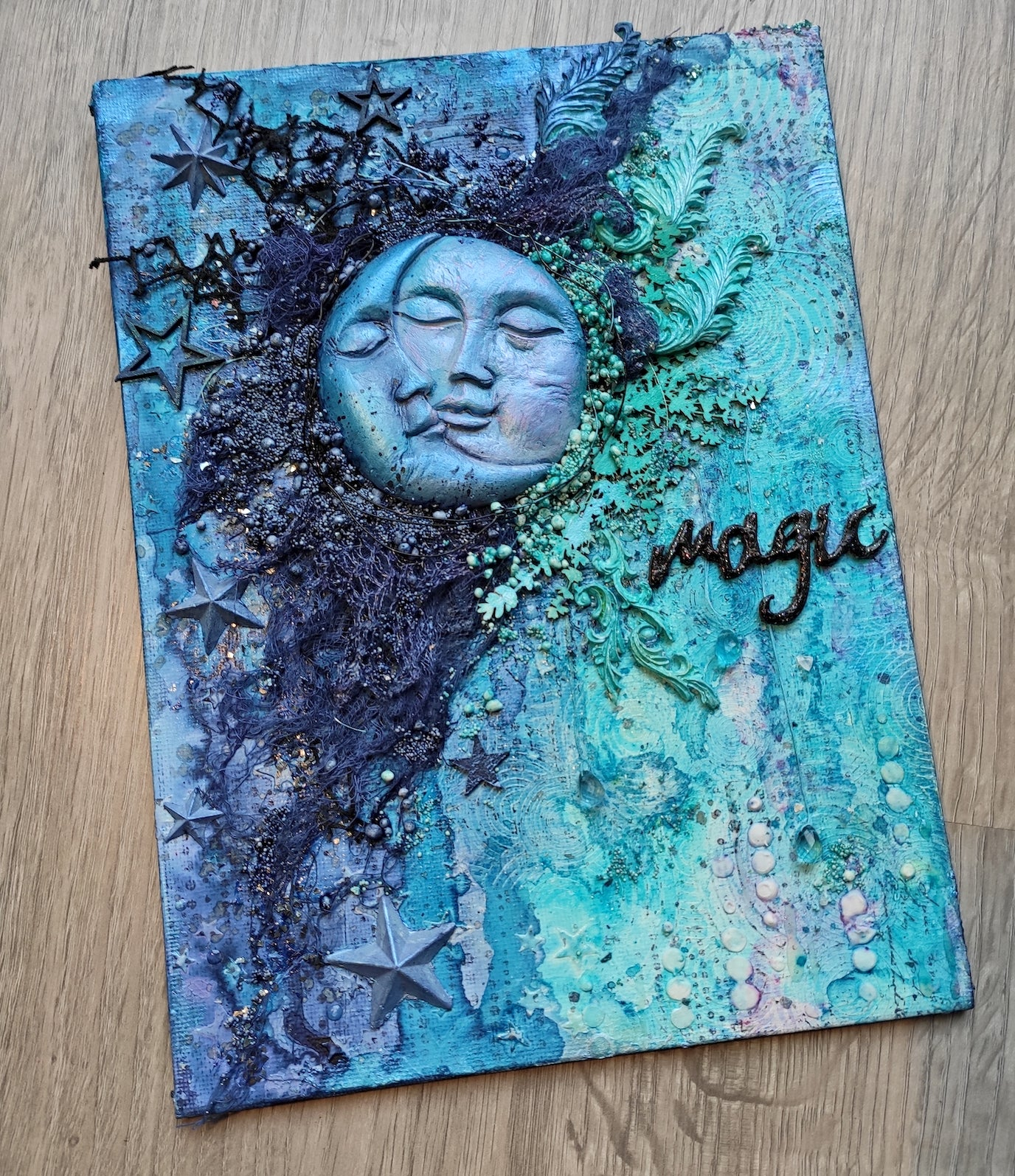Magic Moon & Sun Canvas