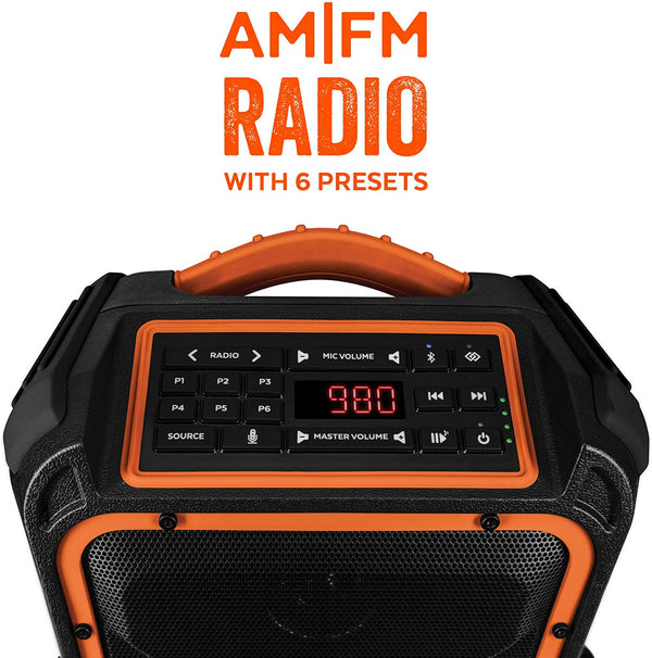 EcoXplorer Orange Radio