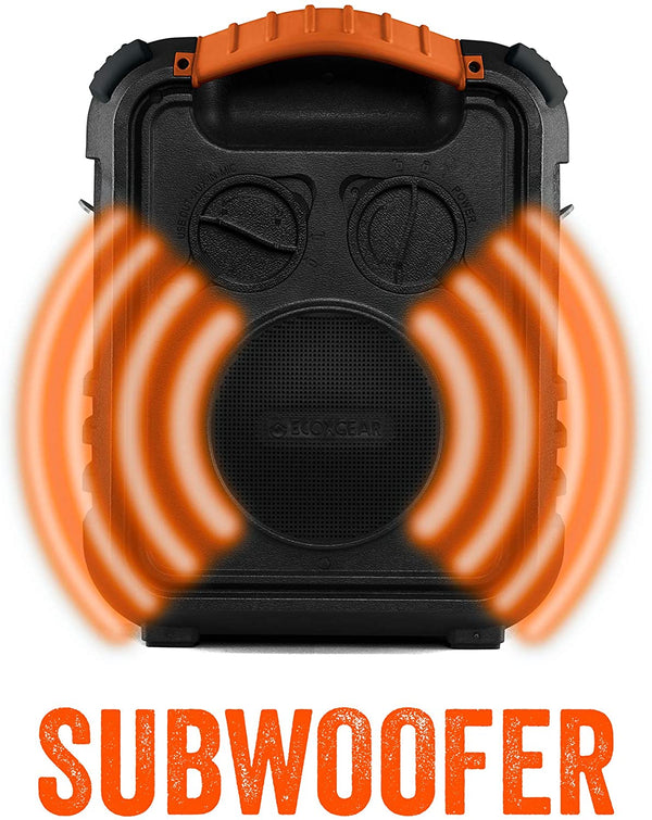 EcoXplorer Orange Subwoofer