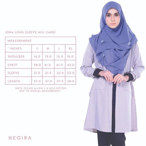 HEGIRA | SIZE MEASUREMENT IONA