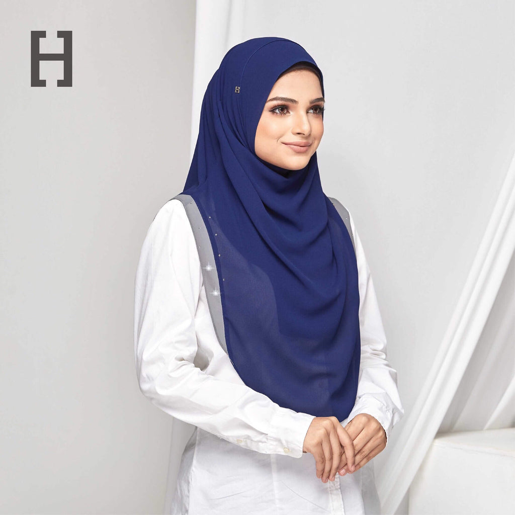 HEGIRA | CHARMINGLY-SO PLAIN WITH SWAROVSKI TORY BLUE