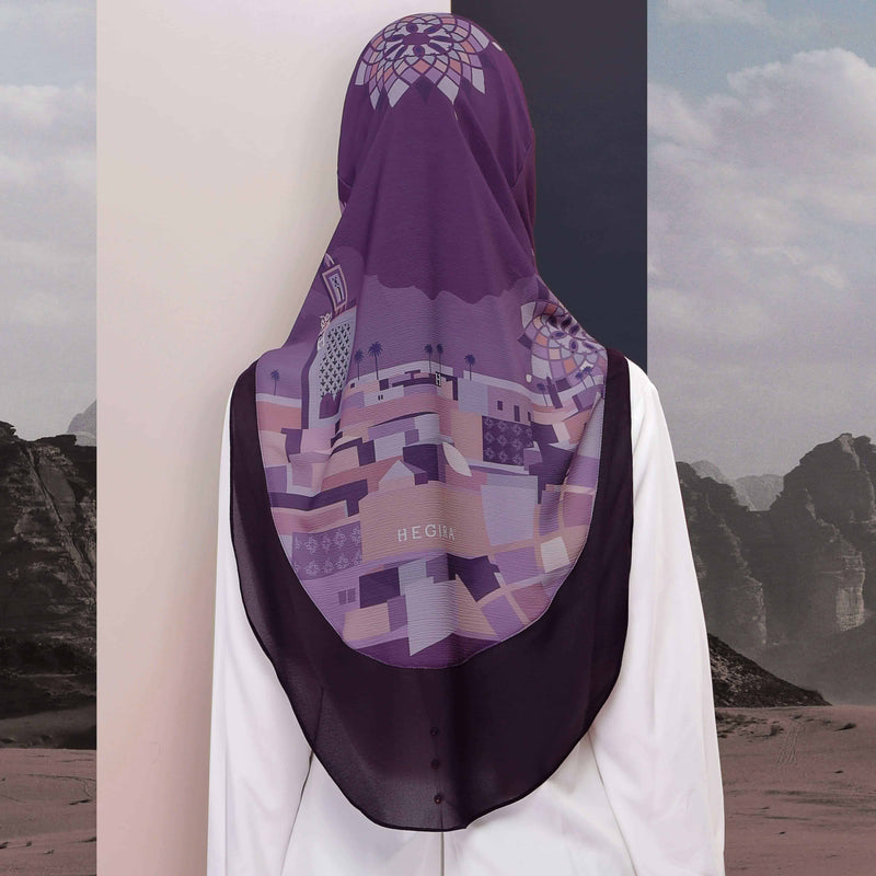 CHARMINGLY-SO MARRAKESH in PURPLE