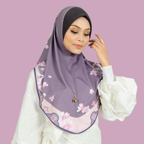 SO-BASIC TANGIER DENIM AWNING in VIOLET