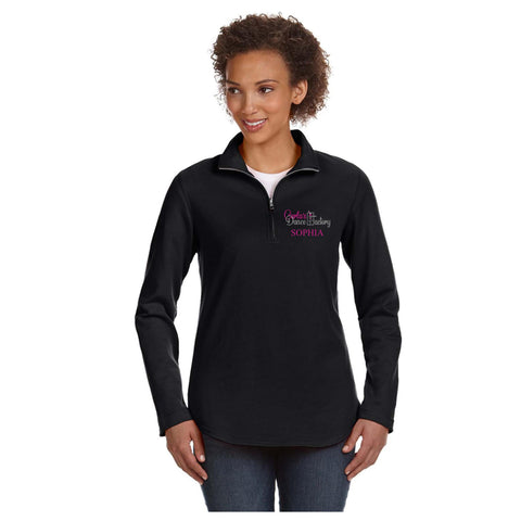 Carla's Dance Factory Ladies' 1/4 Zip