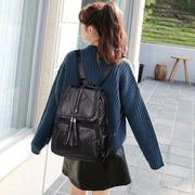 Lisa Genuine Leather Backpack
