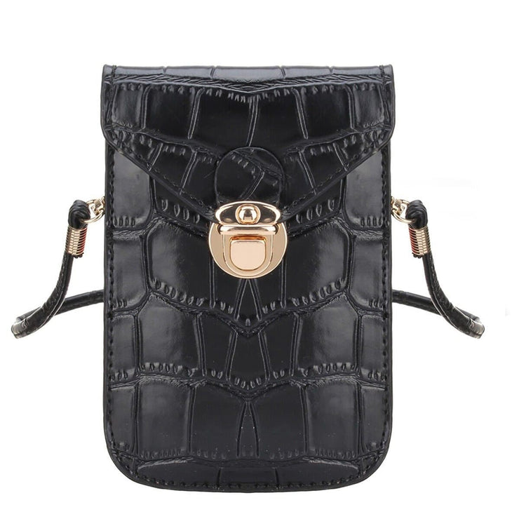 Chloe Mini Crocodile Crossbody Purse