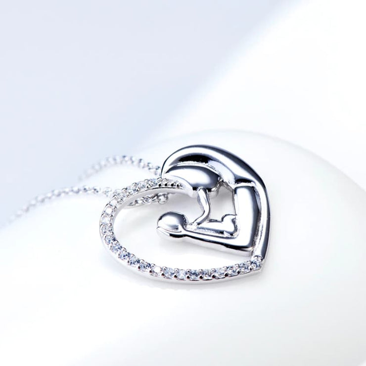 Mother Baby Necklace