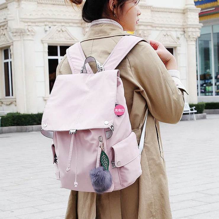 Suzy Korean Style Laptop Backpack