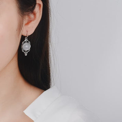 Marie Moonstone Earrings