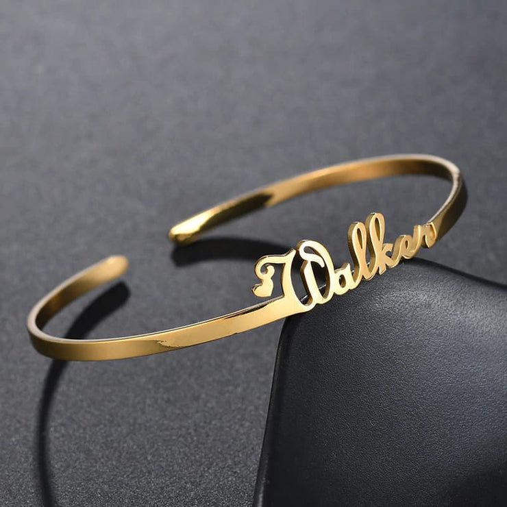 Personal Bangle Bracelet with Free Engraving