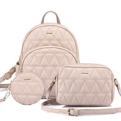 Abby Backpack Purse Set