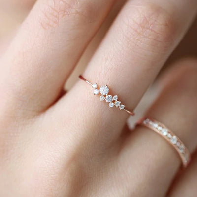Stephanie Sparkle Ring