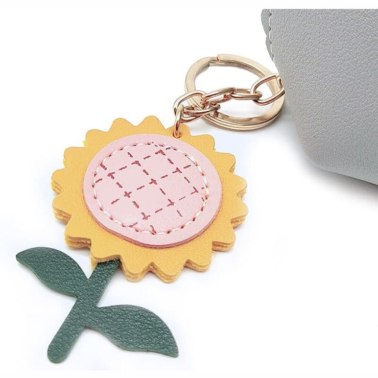 Sunflower Keychain Wallet