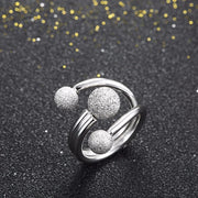Three Ball Wrap Ring