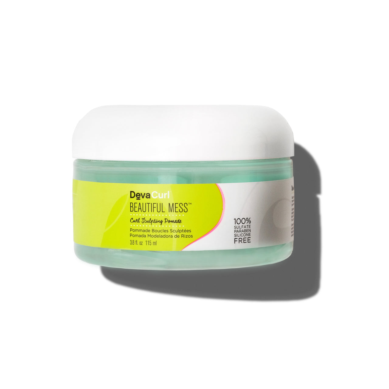DevaCurl Beautiful Mess curl sculptinh pomade tub