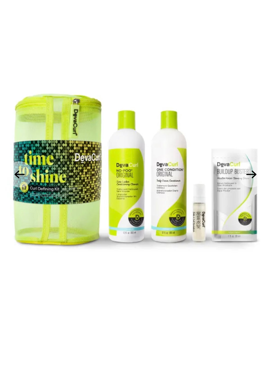 Curly Time To Shine Kit