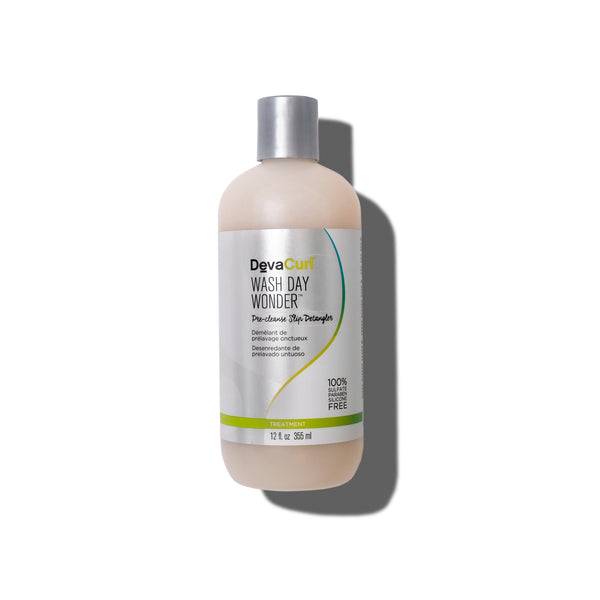 DevaCurl Wash Day Wonder pre-cleanse slip detangler bottle