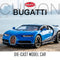 Model Car - BGT-3225A, Bugatti Chiron Model Car