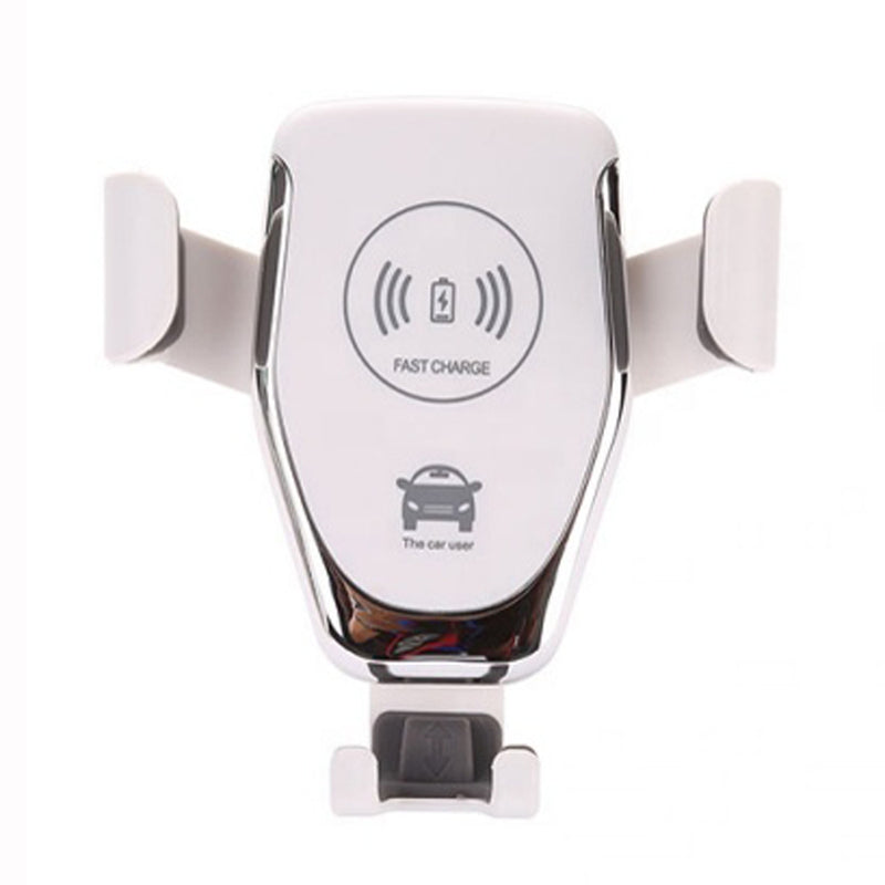 Car Charger - CC-Q12, Hands Free Wireless Car Charger & Phone Holder