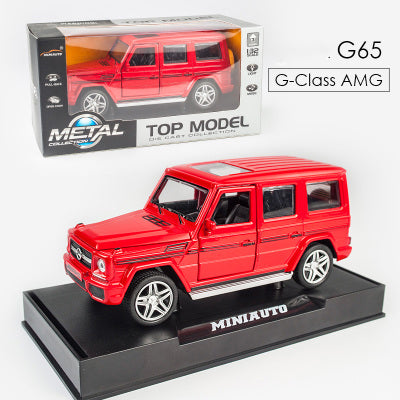 Model Car - G65-3201G, Mercedes Benz AMG G65 Model Car