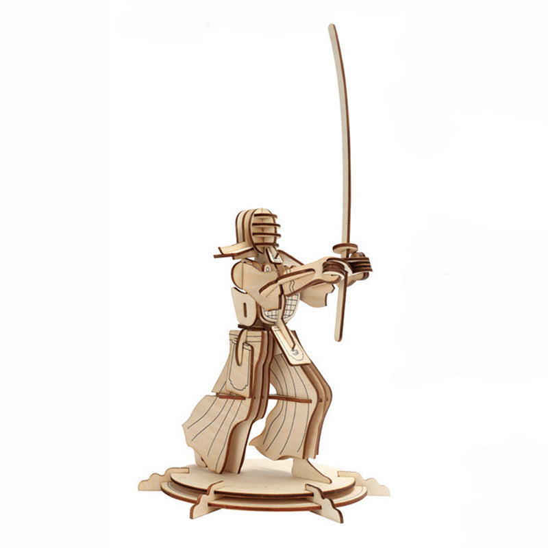 Jigsaw Puzzle - HG-D036, 3D Wooden Jigsaw Puzzle-Kendo