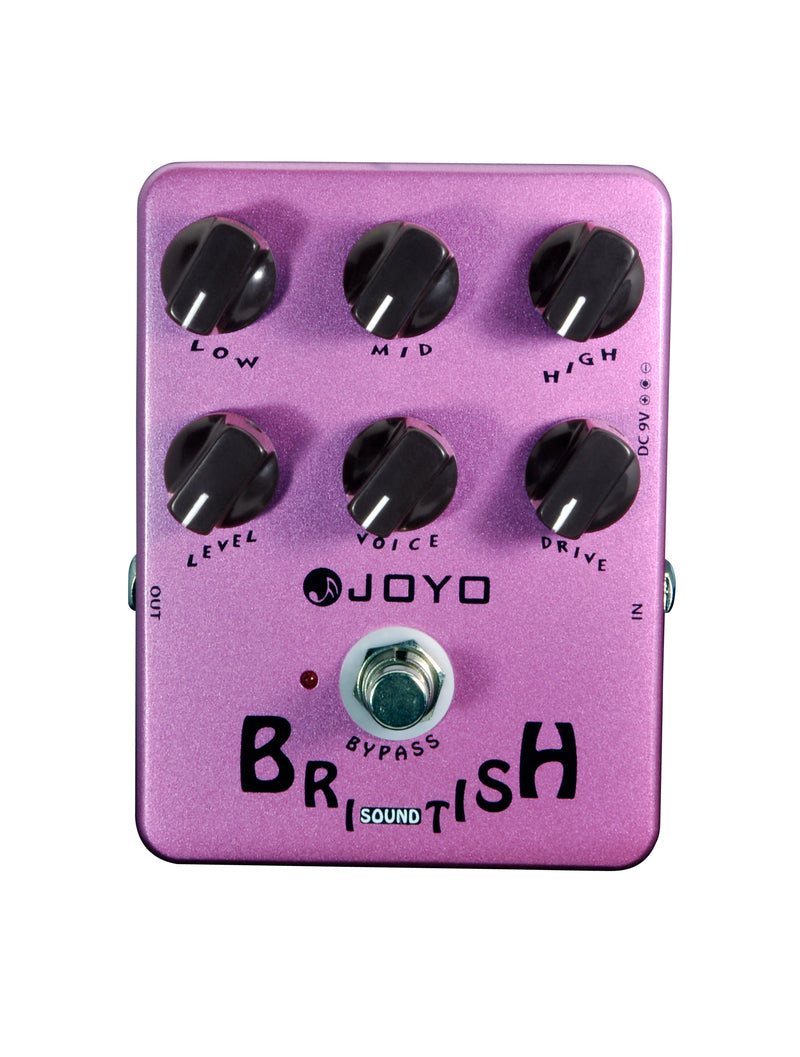JOYO Guitar Pedal - JF-16,British Sound