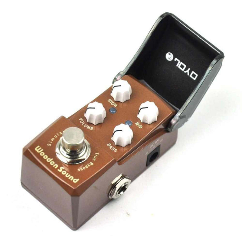 JOYO Guitar Pedal - JF-323,Wooden Sound (Acoustic Simulator)