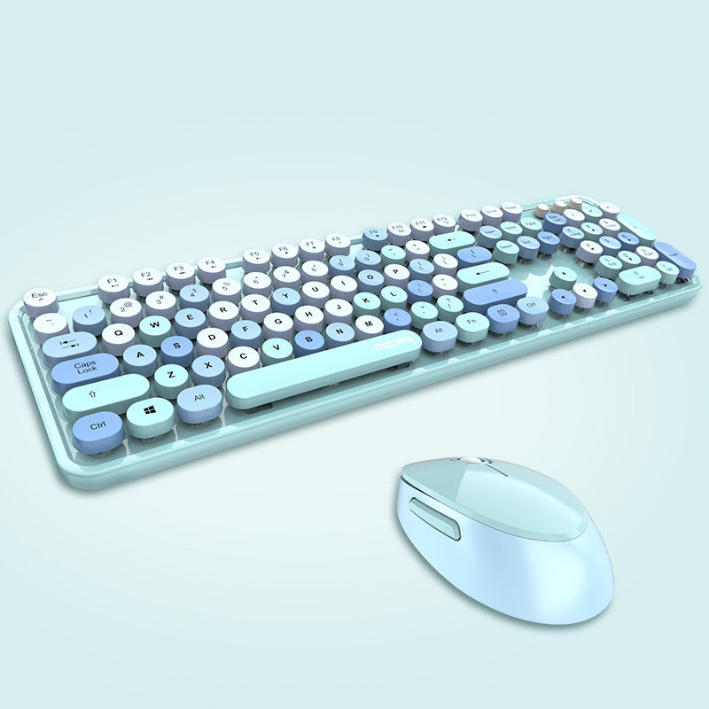 Keyboard + Mouse - KB-001, Wireless Keyboard & Mouse Set