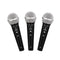 Microphone - MC-100 MK2, 3 Pack Dynamic Cardioid Vocal & Instrument Microphone