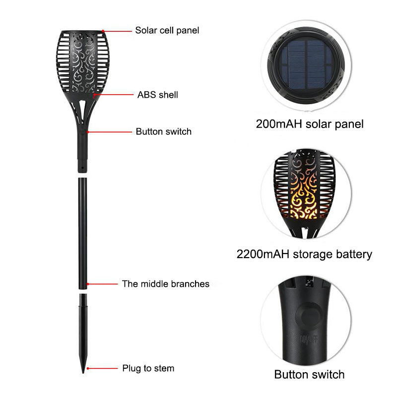 Solar LED Touch Light - SG-003