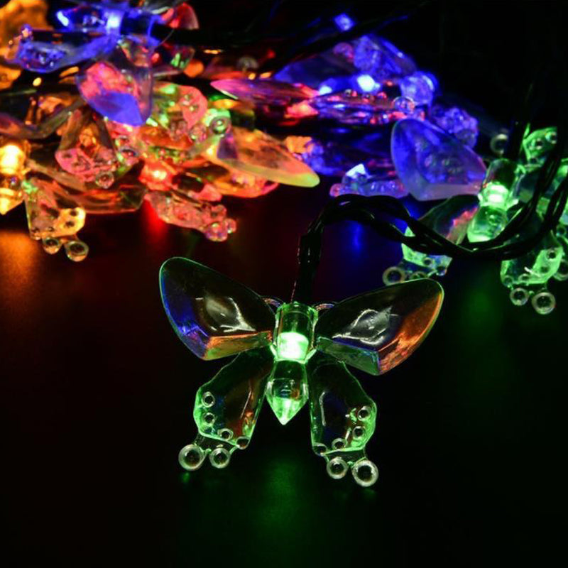 Solar Power LED Strap - SLS-BF, Butterfly