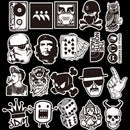 Sticker - ST-003,120 pcs Not Repeating Stickers