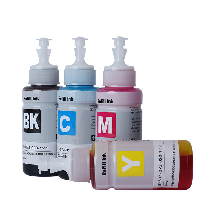 Refill Ink - i-INK-70-BCMY, Compatible Refill CISS Ink (B/C/M/Y) Combo Set