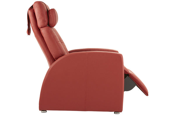Black And Brown Leather Recliners True Zero Gravity Chair