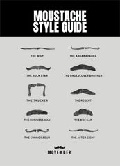 movember style guide moustache