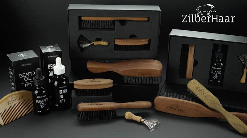 ZilberHaar Long Beard Brush (Soft)