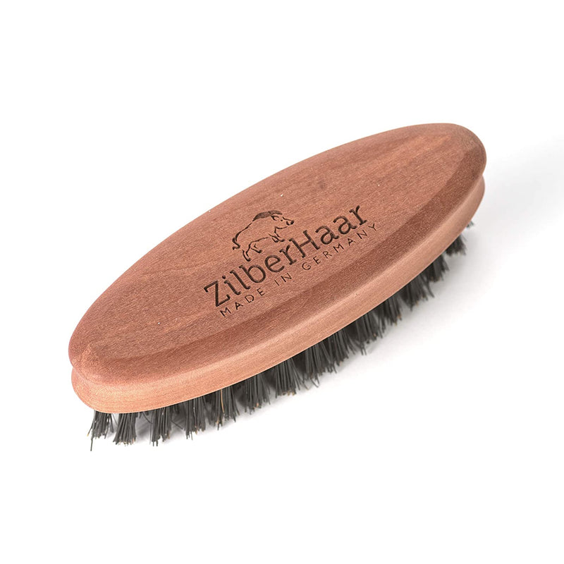 ZilberHaar Pocket Beard Brush (Soft bristles)