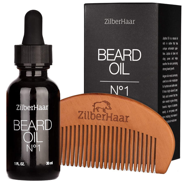 ZilberHaar Beard Oil №1 (30ml + Comb)