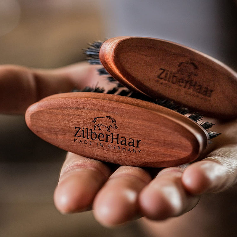 ZilberHaar Pocket Beard Brush (Stiff)