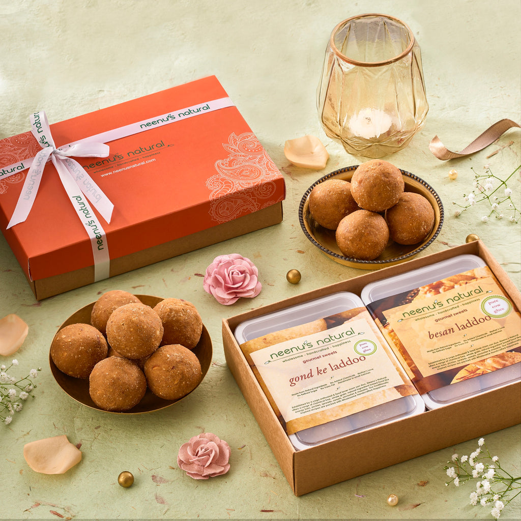 The Laddoo Box CUSTOMISABLE