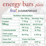 energy bars nutrition