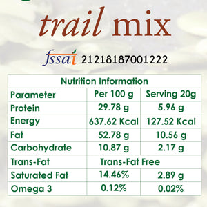 trailmix nutrition